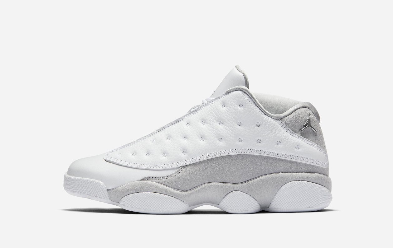 Air Jordan 13 Retro Low Pure Platinum (310810-100)